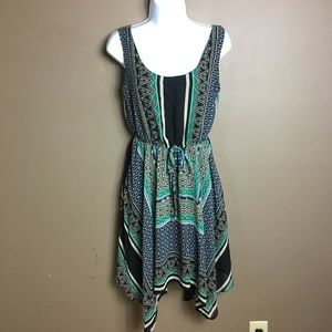 Bebop boho handkerchief dress size small